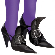 Shoe Covers Witch with Silver Buckle