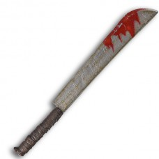 Machete Covered with Blood 75cm long