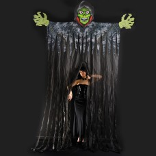 Halloween Curtain Giant Skeleton 350cm