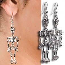 Earings Skeleton Pr on Card