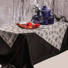 Decoration Table Cover with Spider Webs