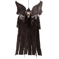 Decorative Hanging Skeleton with Wings