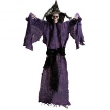 Decorative Hanging Skeleton Witch with H