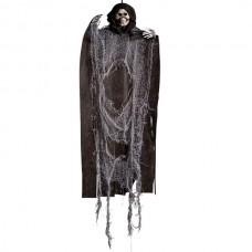 Decorative Hanging Skeleton Black & Grey