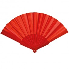 Fabric Fan Red