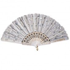 Fan Decorated White