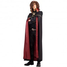 Cloak Taffeta double Faced Black & Red