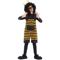 Costume Bee Tunic with Mask & Headband