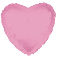 Balloon Foil - Heart Metallic Pink