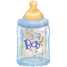 Balloon Foil - Baby Its a Boy Bottle
