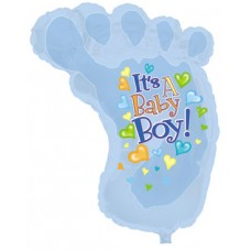 Balloon Foil - Baby Its a Boy Foot