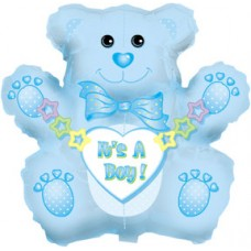 Balloon Foil - Baby Its a Boy Bear