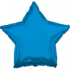 Balloon Foil - Star Metallic Blue Royal