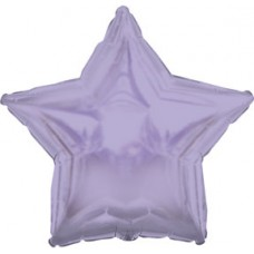 Balloon Foil - Star Metallic Lavender