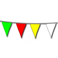 Bunting Assorted Colours 10m & 20 flags