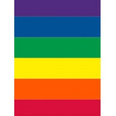 Bunting Rainbow Squares 10m x 15 Flags