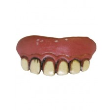 Teeth in Blister Card Novelty Latex