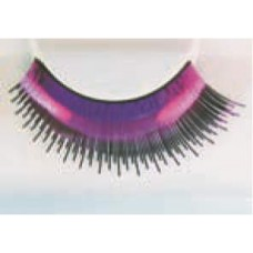Eye Lash set Metallic Pink