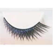 Eye Lashes Crossed Short/Long Black