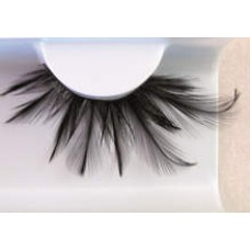 Eye Lash set Feather Black Long