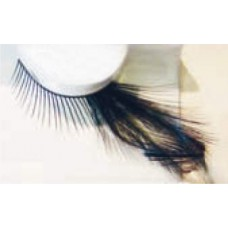 Eye Lashes Feather Black Short Long
