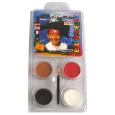 Face Pack 4 Colours Pirate