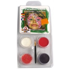 Face Pack 4 Colours Bird of Paradise