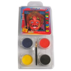 Face Pack 4 Colours Devil