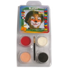Face Pack 4 Colours Cat