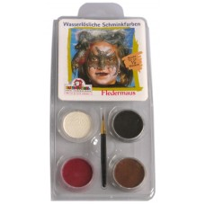 Face Pack 4 Colours Bat