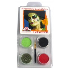Face Pack 4 Colours Halloween