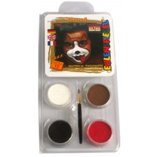 Face Pack 4 Colours Dog