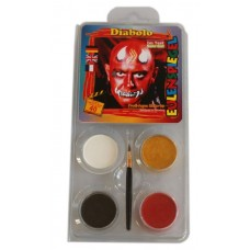 Face Pack 4 Colours Devil Diabolo