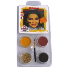Face Pack 4 Colours Chinese