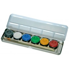 Metal Paint Box 6 Colours