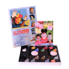 8 Colour Palette Pearlised Make Up Boxed