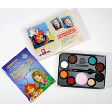 8 Colour Palette Animal Make-up Boxed