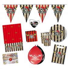 Party Package Red Pirate