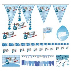Party Decorating Pack Celebrate Blue
