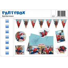 Party Package Marvel Spiderman Web Warri