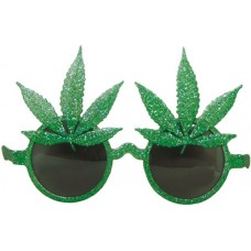 Party Glasses Plant Leaf  Green