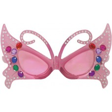 Party Glasses Fairy Pink