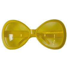 Party Glasses Large Yellow