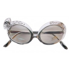 Party Glasses Diamond & Silver Deluxe