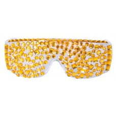 Party Glasses Diamond Gold Lady