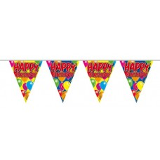 Balloon Design Bunting Happy Birthday