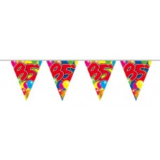 Balloon Design Bunting No 85th Birthday