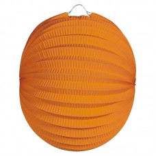 Party Lantern Round Orange 22cm