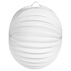 Party Lantern Round white 22cm