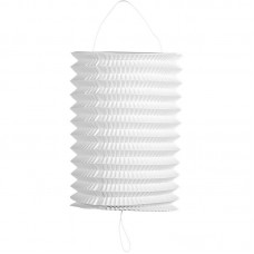 Party Lantern drop white 16cm